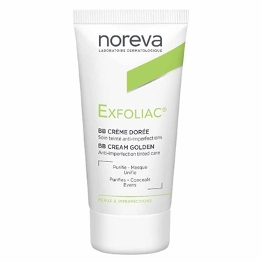 Noreva Exfoliac BB Cream Golden 30ml Renksiz